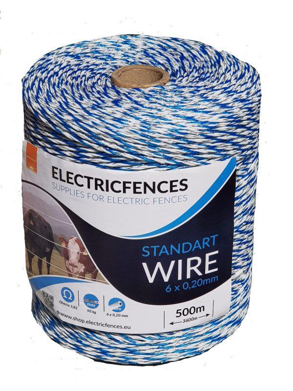 въже електропастир с дебелина 3мм и дължина 500м